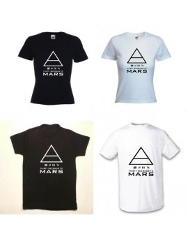 TEE SHIRT 30 SECONDS TO MARS PYRAMIDE