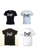 TEE SHIRT DUFF BIER SIMPSONS
