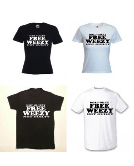 TEE SHIRT FREE WEEZY NOT GUILTY