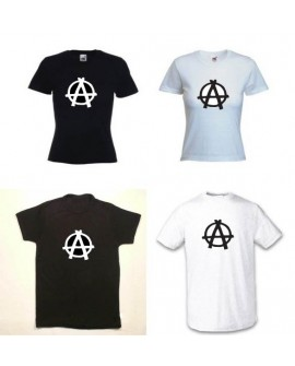 TEE SHIRT ANARCHY REVOLUTION REVOLTE