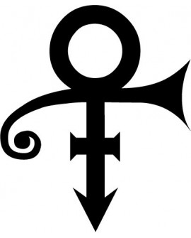 Sticker PRINCE - Love Symbol