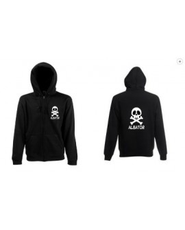 SWEAT SHIRT CAPUCHE ZIP ALBATOR