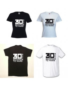 TEE SHIRT 30 SECONDS TO MARS LOGO 30