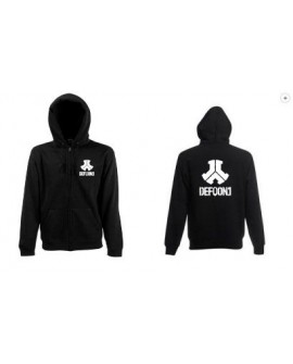 SWEAT SHIRT CAPUCHE ZIP DEFQON1