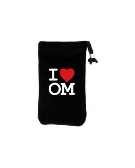 Housse téléphone portable I LOVE OM MARSEILLE Pochette chaussette