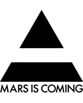 Sticker 30 SECONDS TO MARS
