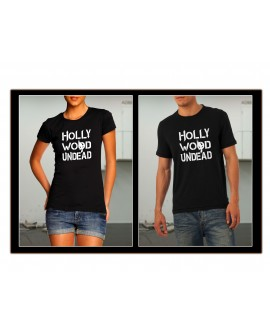 TEE SHIRT HOLLYWOOD UNDEAD METAL