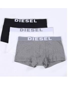DIESEL Boxers Pack de 3 Homme Blanc Gris Noir 00Cky3 0Ntga Umbx