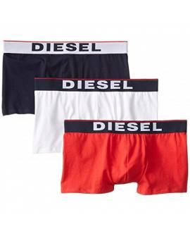 DIESEL Boxers Pack de 3 Homme Blanc Rouge Bleu fonçé 00SAB2 0JADV