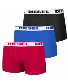 DIESEL Boxers Pack de 3 Homme Noir Bleu Rouge 00sb5i 0gafn